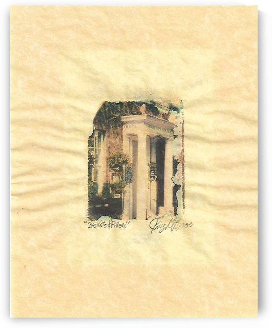 baskets and pillars by Jon Knight Loruenser