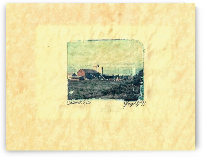 summer silo by Jon Knight Loruenser
