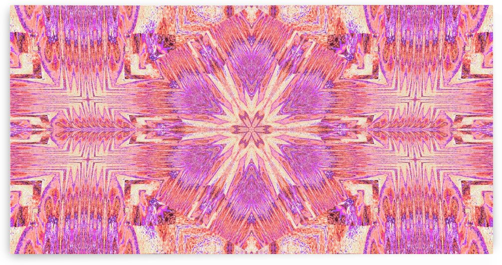 Pink Dandelion by Sherrie Larch