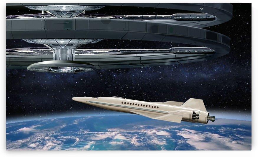 Shuttle104 by Bill Wright