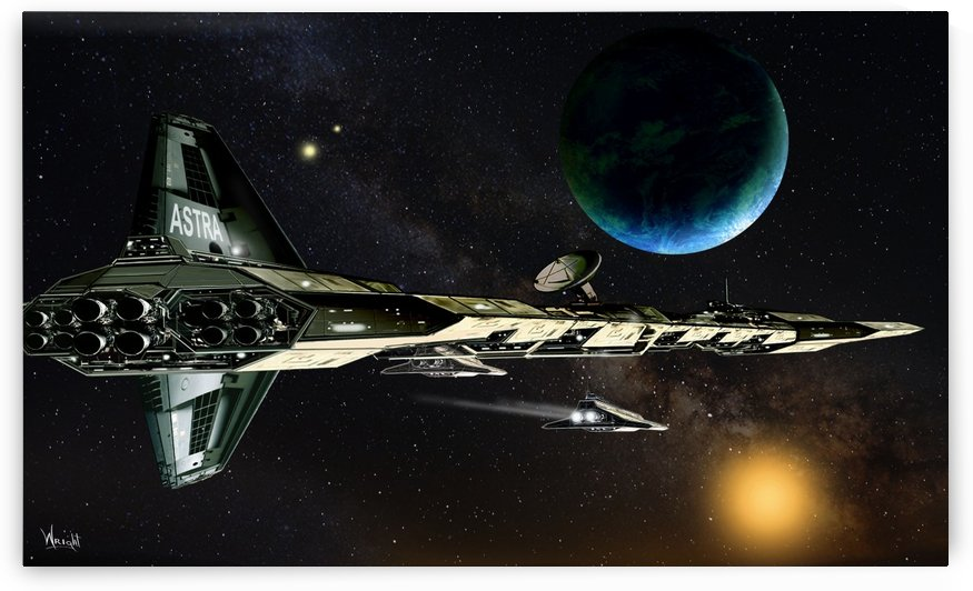ASTRA with shuttle by Bill Wright
