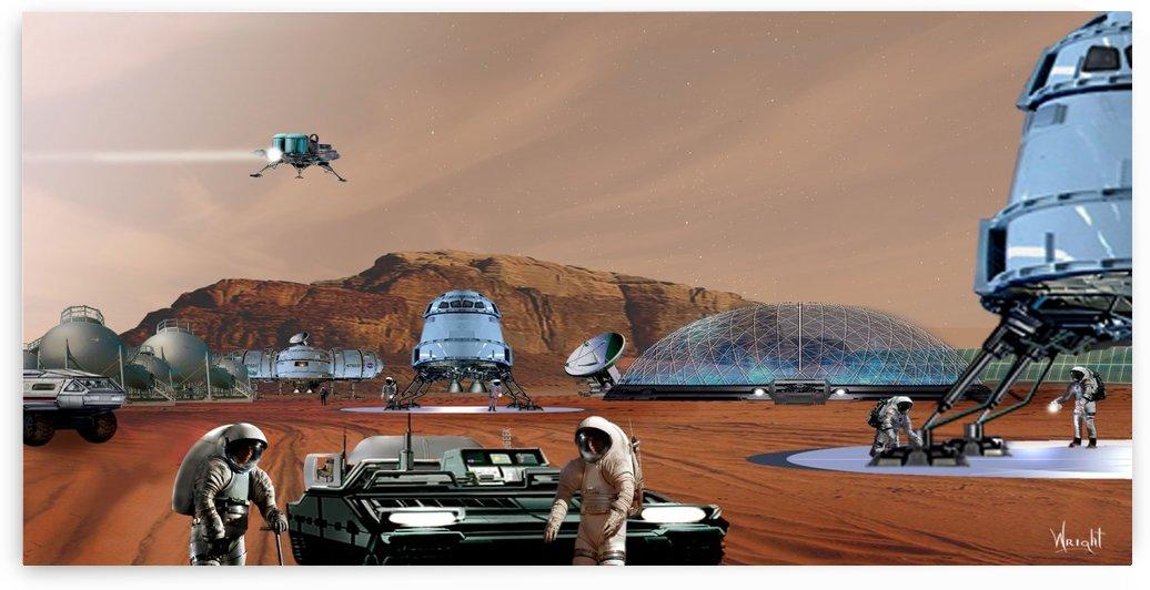Mars Base 12 by Bill Wright