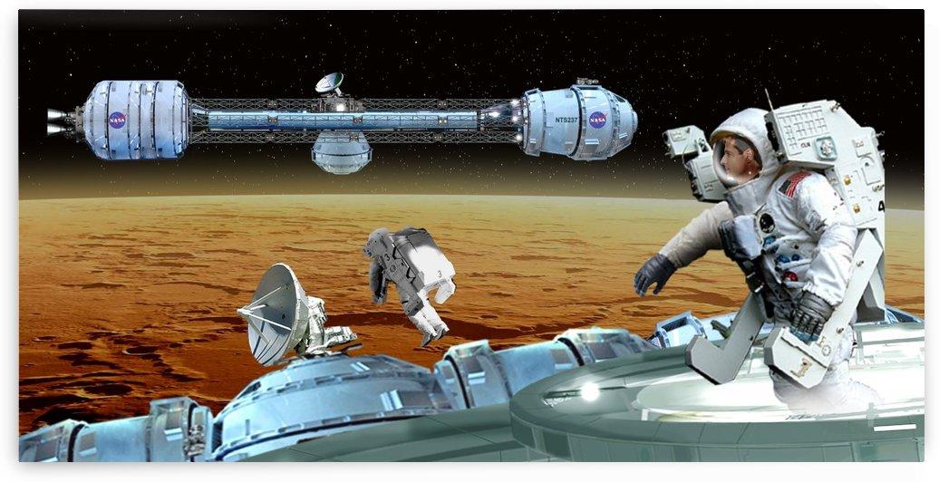 Mars EVA by Bill Wright