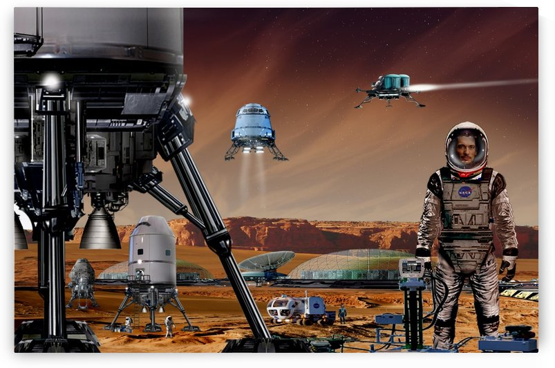Mars Project 3 by Bill Wright