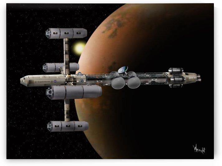Copernicus in Mars Orbit by Bill Wright