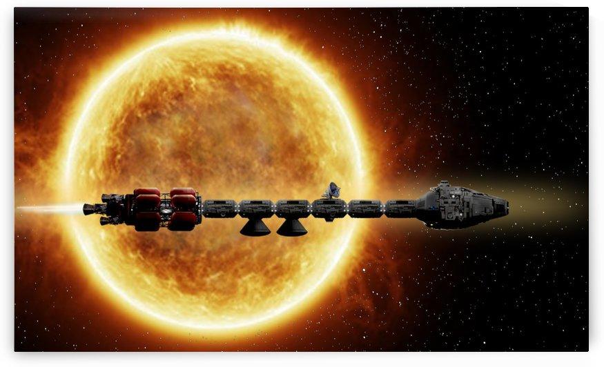 Solar Transit by Bill Wright