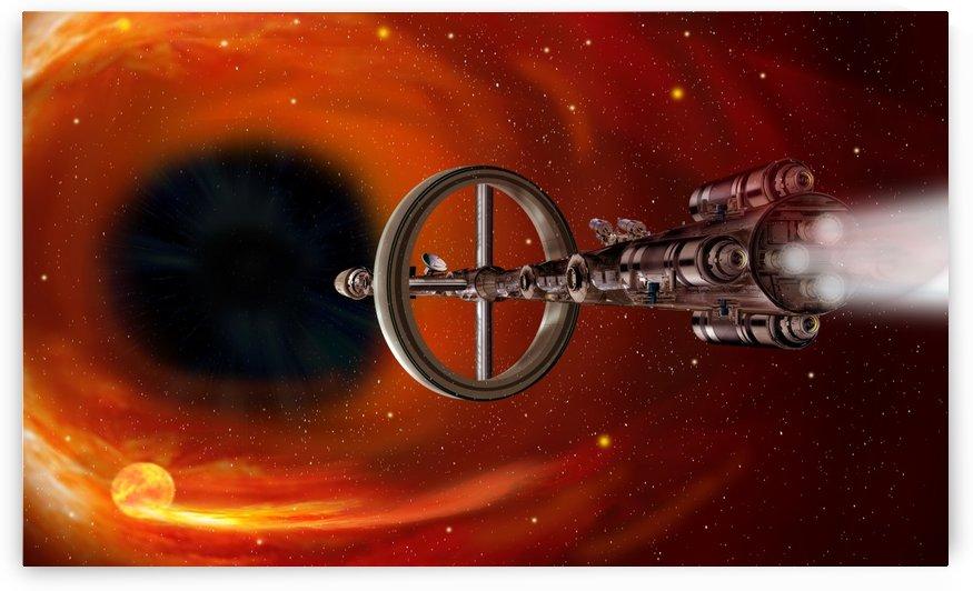 StarGate Sagittarius A* by Bill Wright