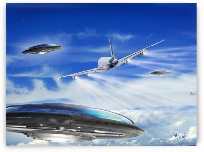 UFO Encounter by Bill Wright