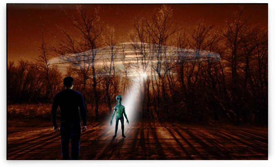 Dark Encounter by Bill Wright