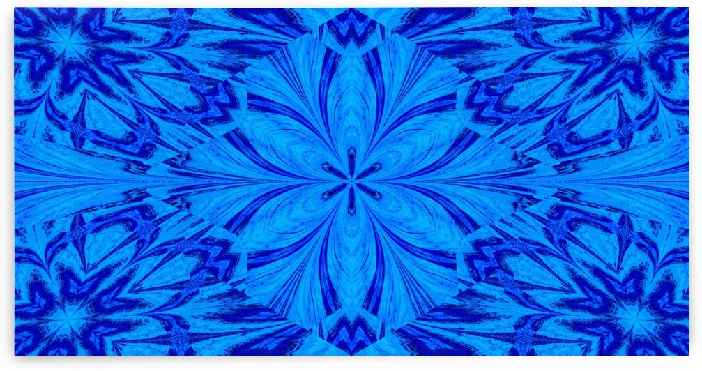 A Blue Wildflower 1 by Sherrie Larch