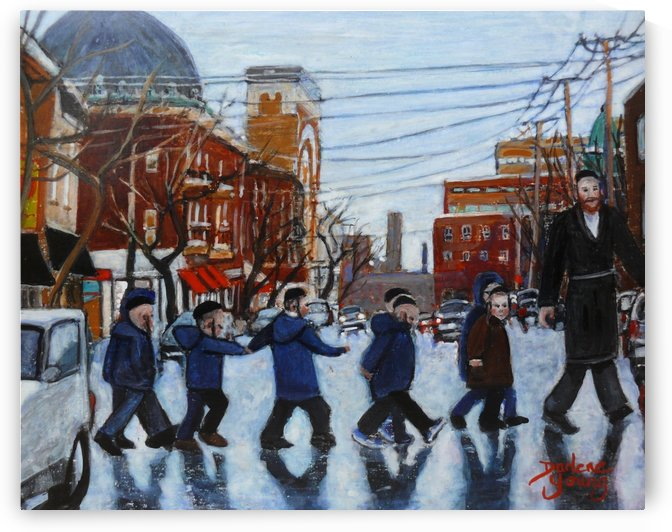 Safe Crossing by Darlene Young Canadian Artist
