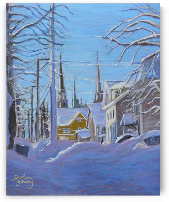 Steeples by Darlene Young Canadian Artist