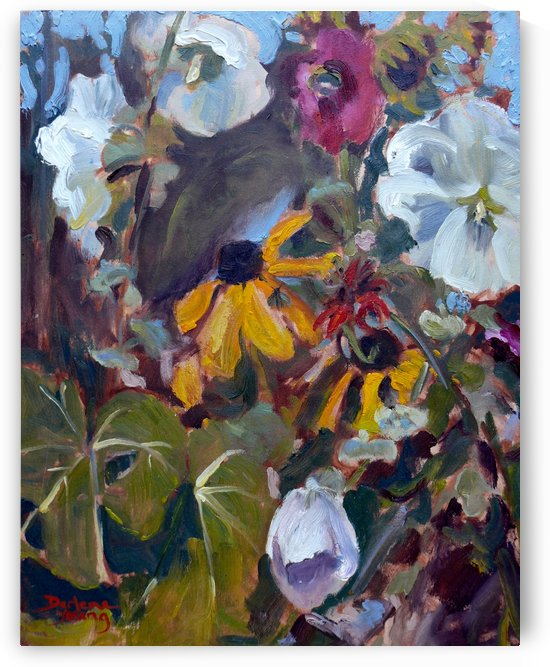 Tangled Garden by Darlene Young Canadian Artist