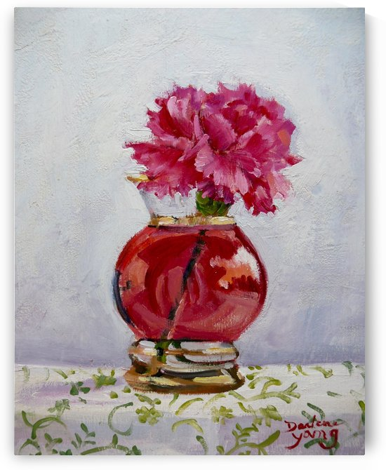 Little Carnation by Darlene Young Canadian Artist