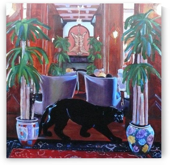 Bengal Lounge by Darlene Young Canadian Artist