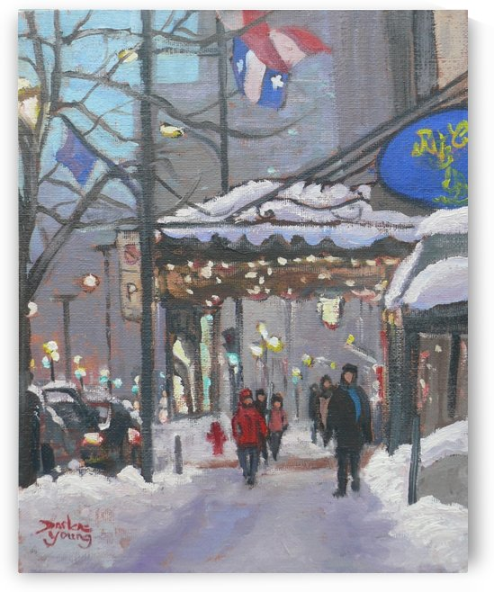 The Ritz by Darlene Young Canadian Artist