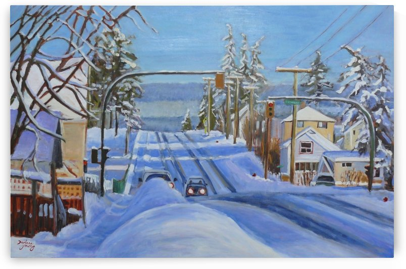 Morning Shadows by Darlene Young Canadian Artist