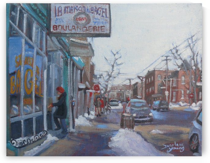 St Viateur by Darlene Young Canadian Artist