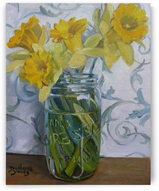 Daffodils by Darlene Young Canadian Artist