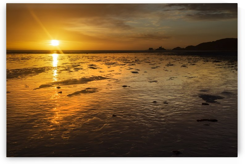 Daybreak at Swansea Bay by Leighton Collins