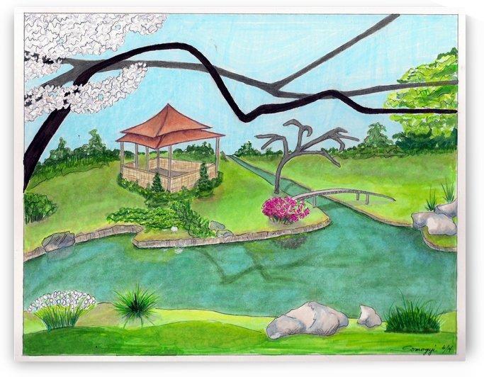 Nitobe Memorial Garden by Jayne Somogy