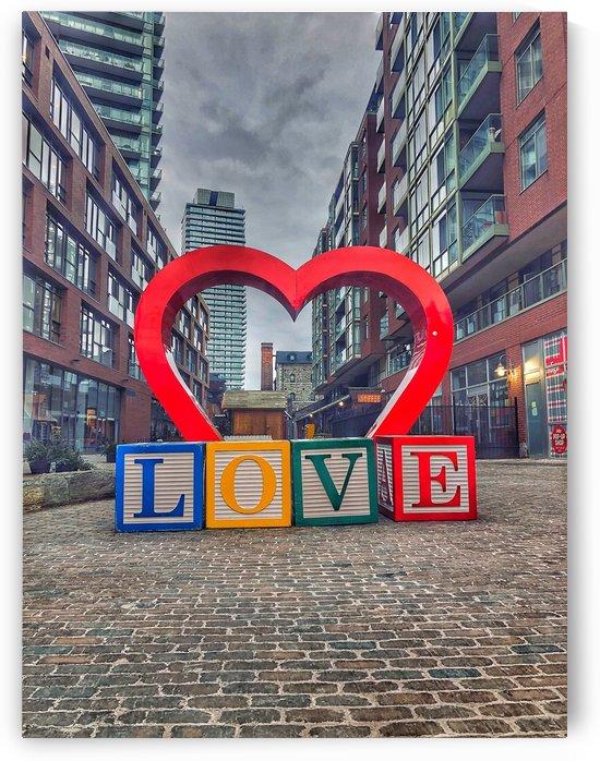 Love Heart Distillery District - Toronto by UrbanStreetBeats