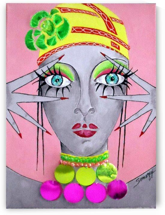 Peekaboo on Pink by Jayne Somogy