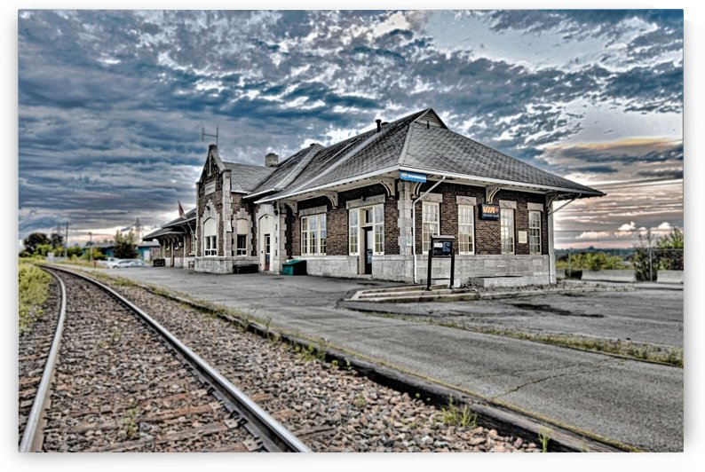 Gare by Annie St-Pierre Photographie