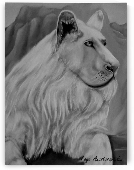 White Lion by Faye Anastasopoulou