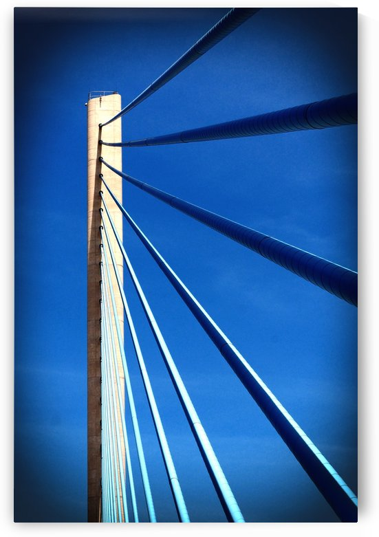 Geometry Lesson at the Indian River Inlet Bridge by Bill Swartwout Photography