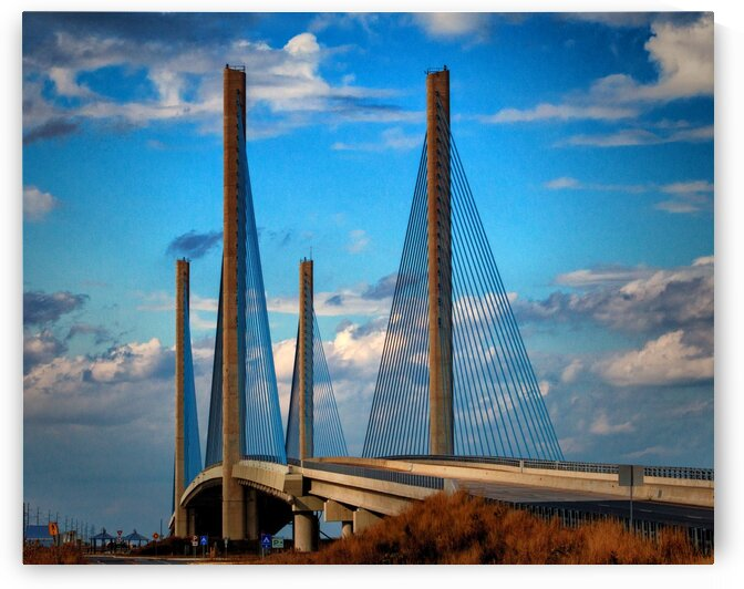 Indian River Bridge South Approach by Bill Swartwout Photography