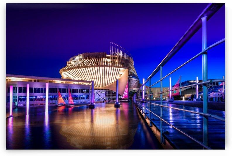Montreal Casino At Night by Telly Goumas