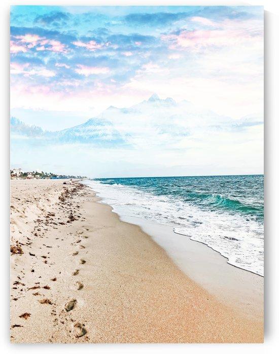A Walk On The Beach by 83 Oranges