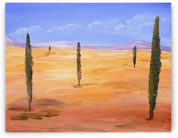 Desert - Surreal by Birgit Moldenhauer