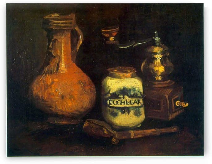 Coffee Mill by Van Gogh by Van Gogh