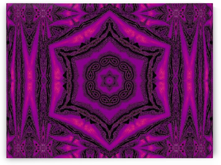 Purple Desert Song 12 by Sherrie Larch