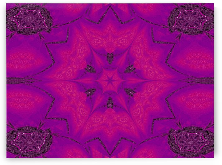 Purple Desert Song 29 by Sherrie Larch