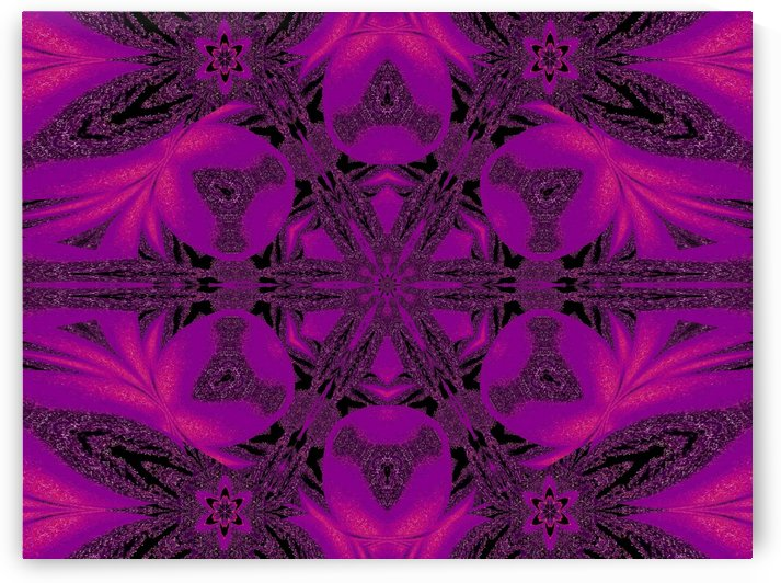 Purple Desert Song 35 by Sherrie Larch