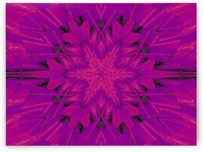 Purple Desert Song 45 by Sherrie Larch