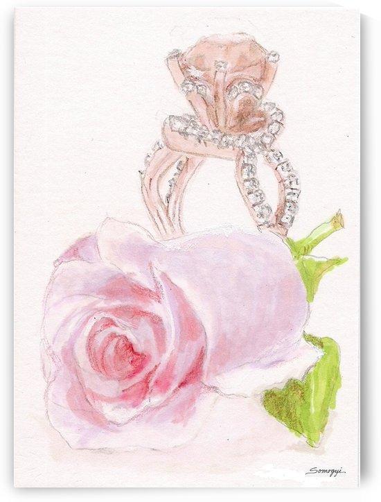 Pink Diamonds by Jayne Somogy