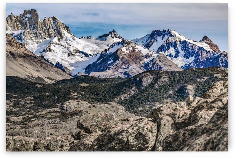 El Chalten Landcape Andes Patagonian Mountains, Agentina by Daniel Ferreia Leites Ciccarino