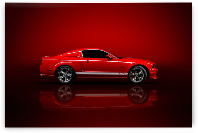 Red Mustang Studio 2 by Telly Goumas