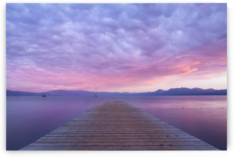 Tahoe Blush by Gary Geddes