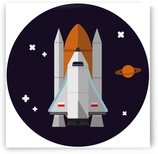 rocket space universe spaceship by Shamudy