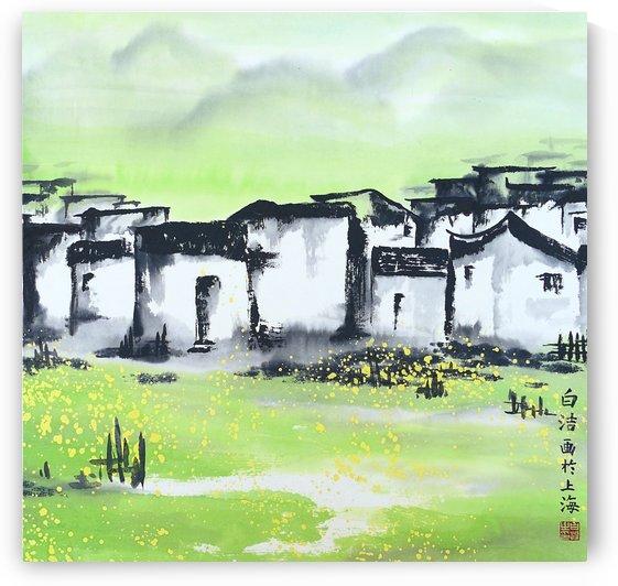 Zhongguo Cun - Chinese Village by Birgit Moldenhauer