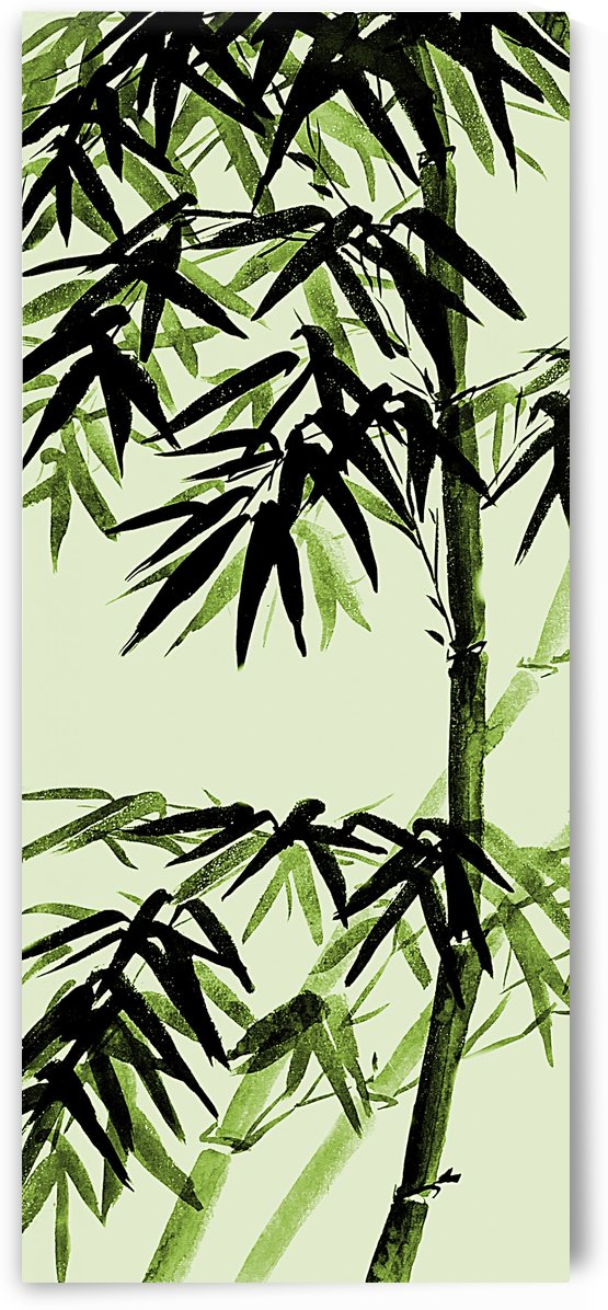 Bamboo - olive green by Birgit Moldenhauer