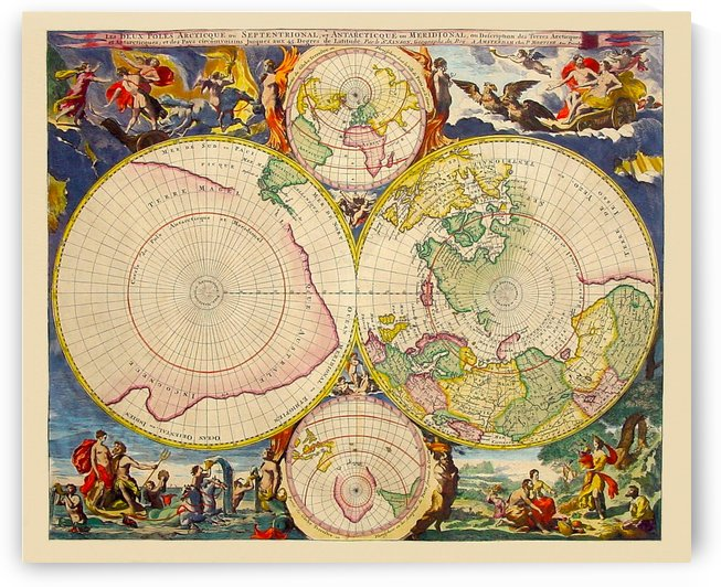 Ancient World Map by Culturio