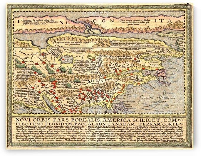 Ancient America Map 2 by Culturio