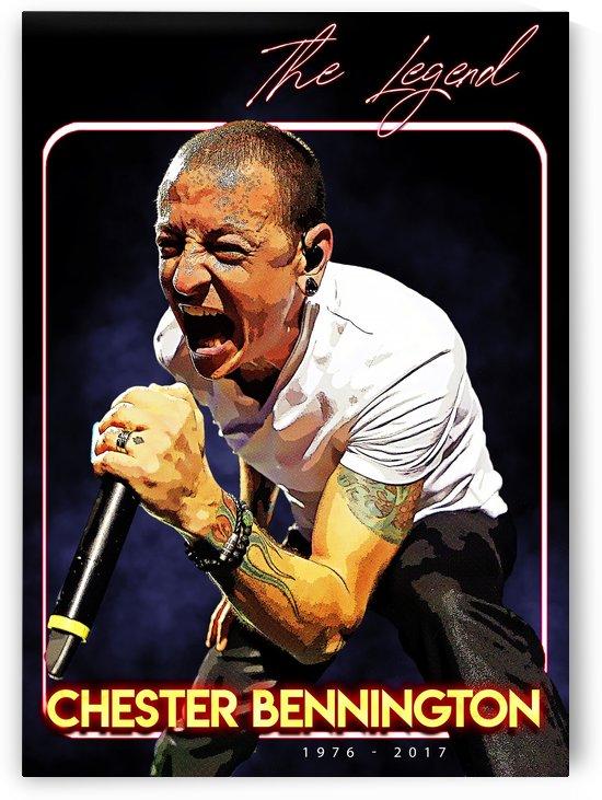 Chester Bennington The Legends Scream by Gunawan Rb
