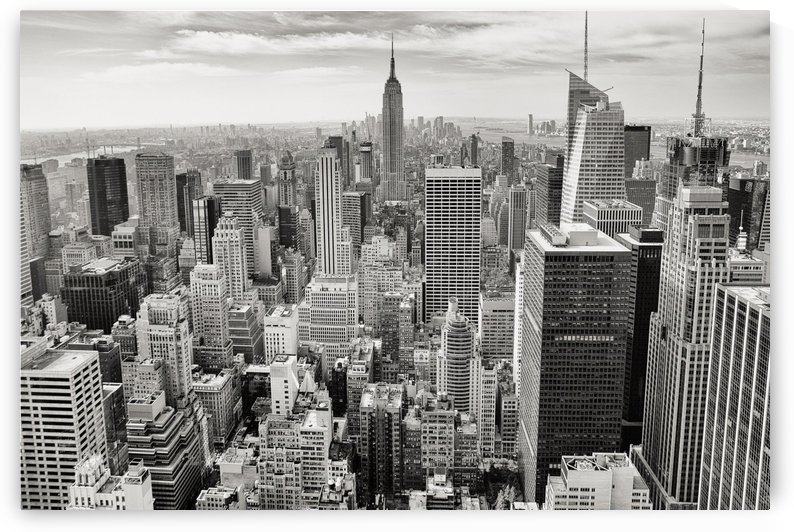 manhattan empire state building by Shamudy